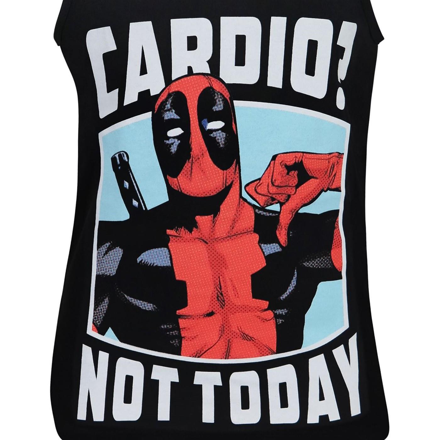 Deadpool Cardio? Not Today Men's Tank Top