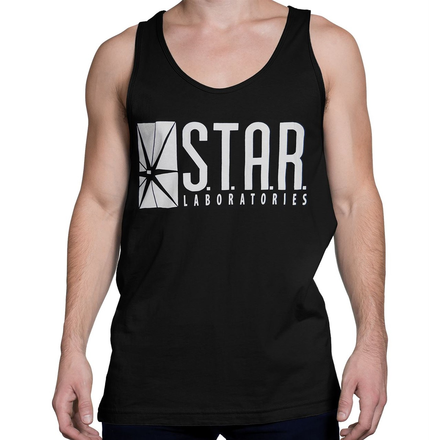 Flash Star Labs Black Tank Top