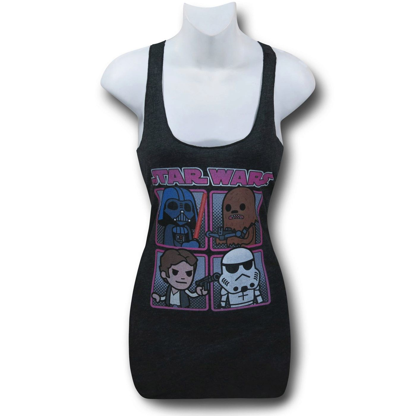 Star Wars Cute Quad Women's Tank Top