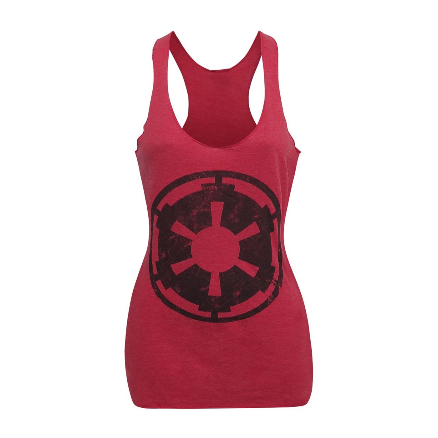 Star Wars Empire Symbol Heather-Red Women's Tank Top