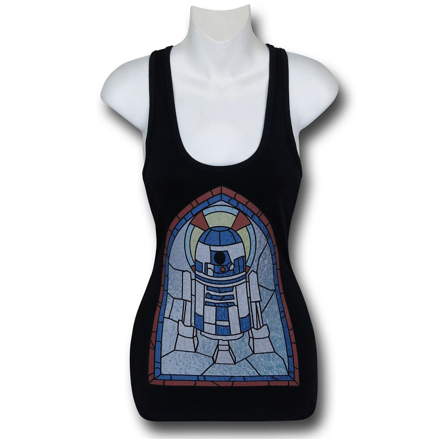 Star Wars R2-D2 Stained Glass Women's Tank Top