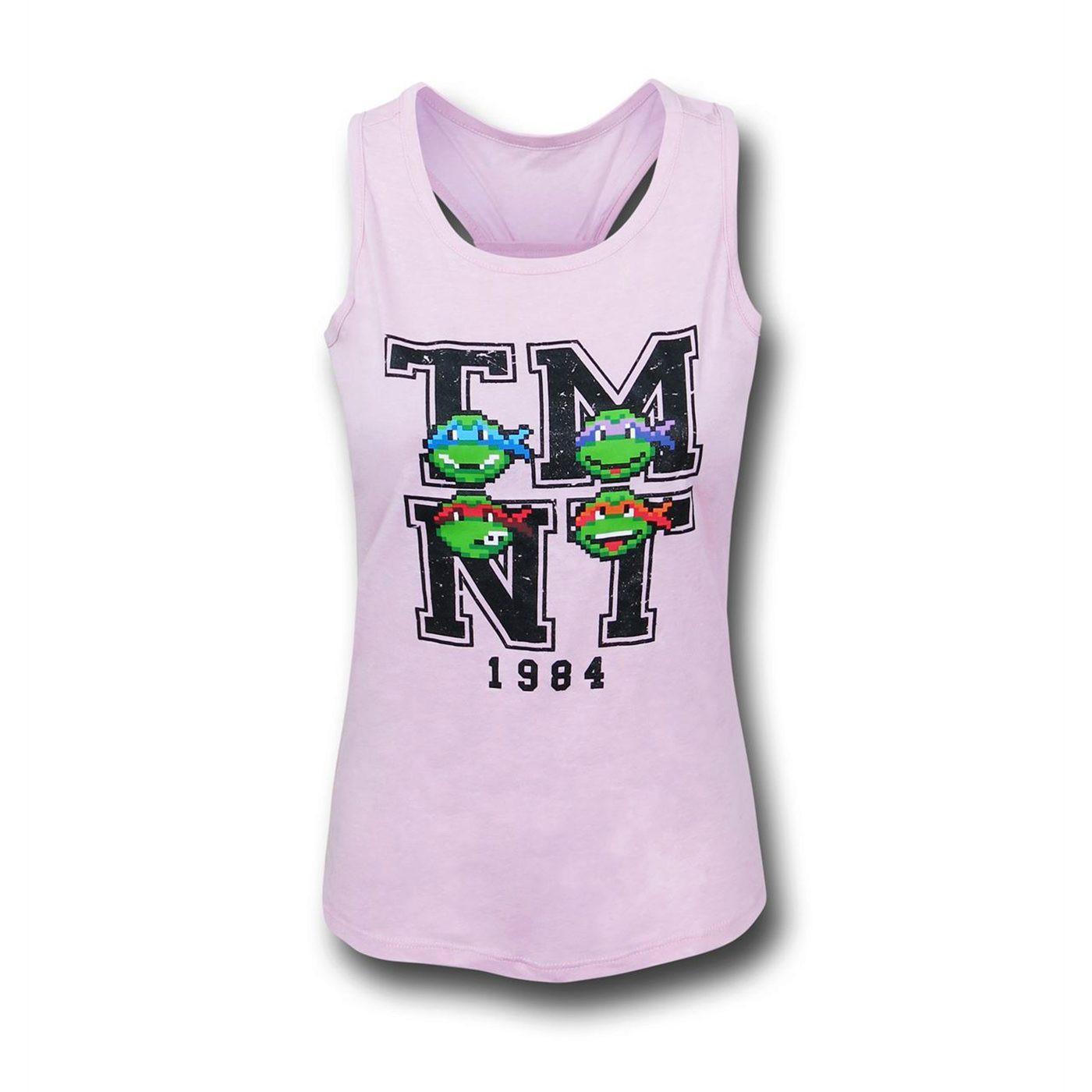 TMNT Heads Girls Youth Tank Top