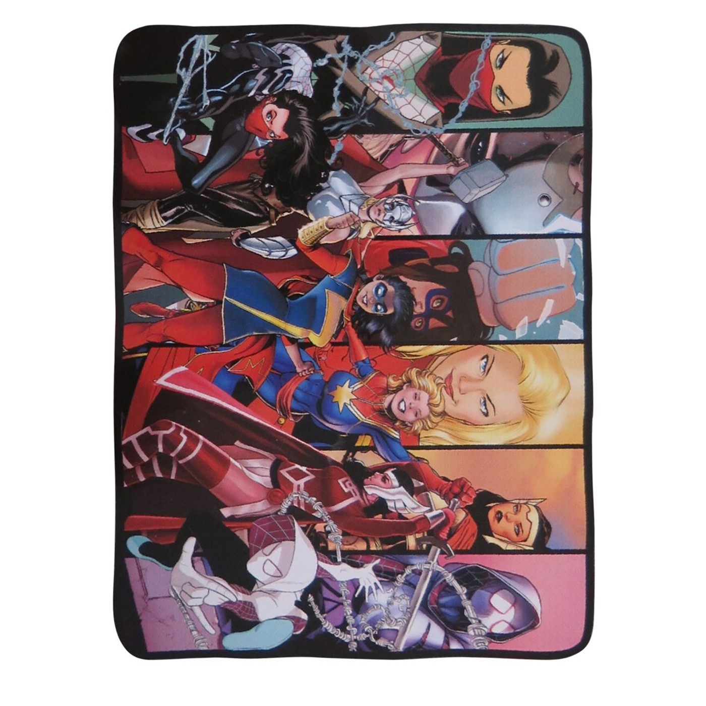 Women of Marvel Throw Blanket