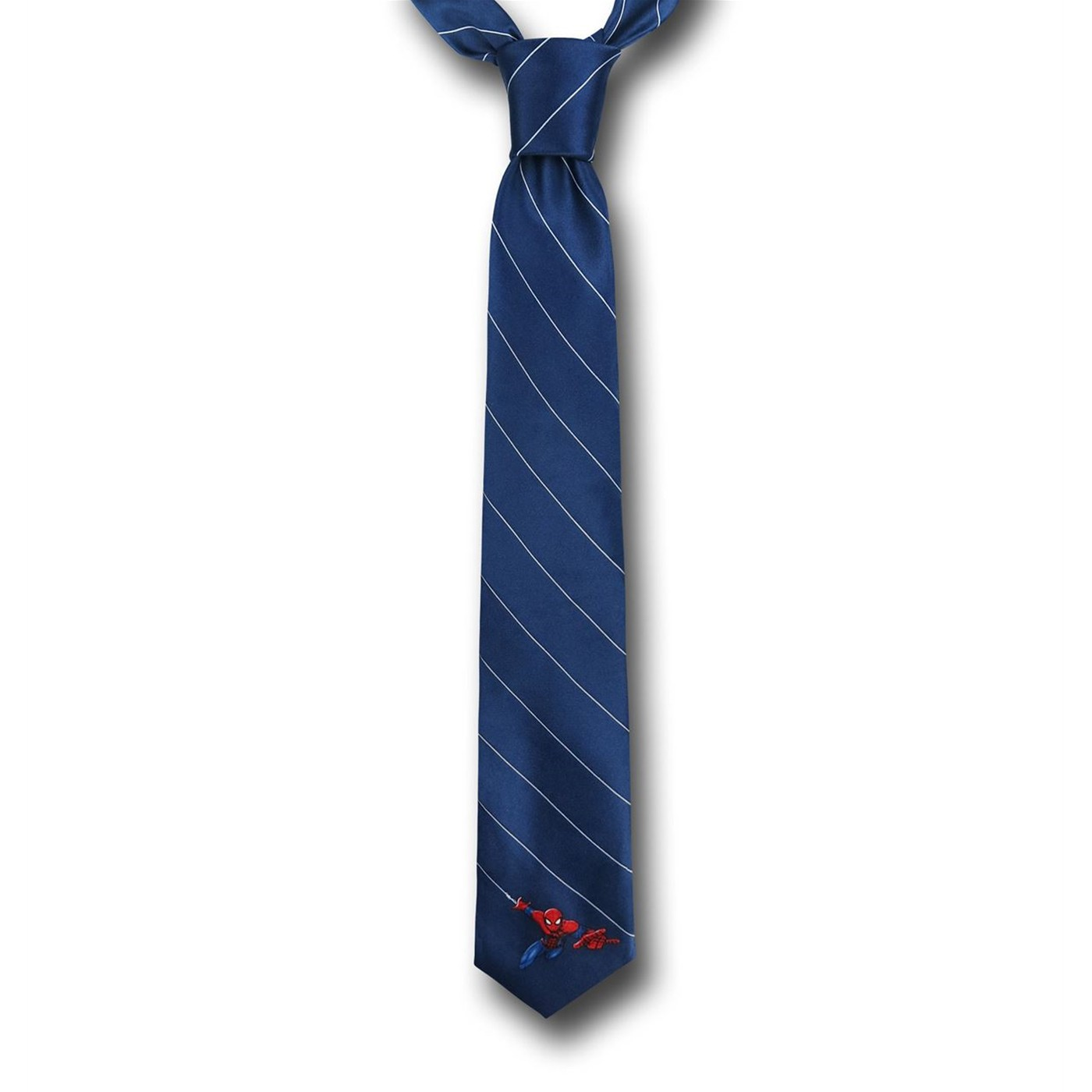 Spiderman Striped Tie