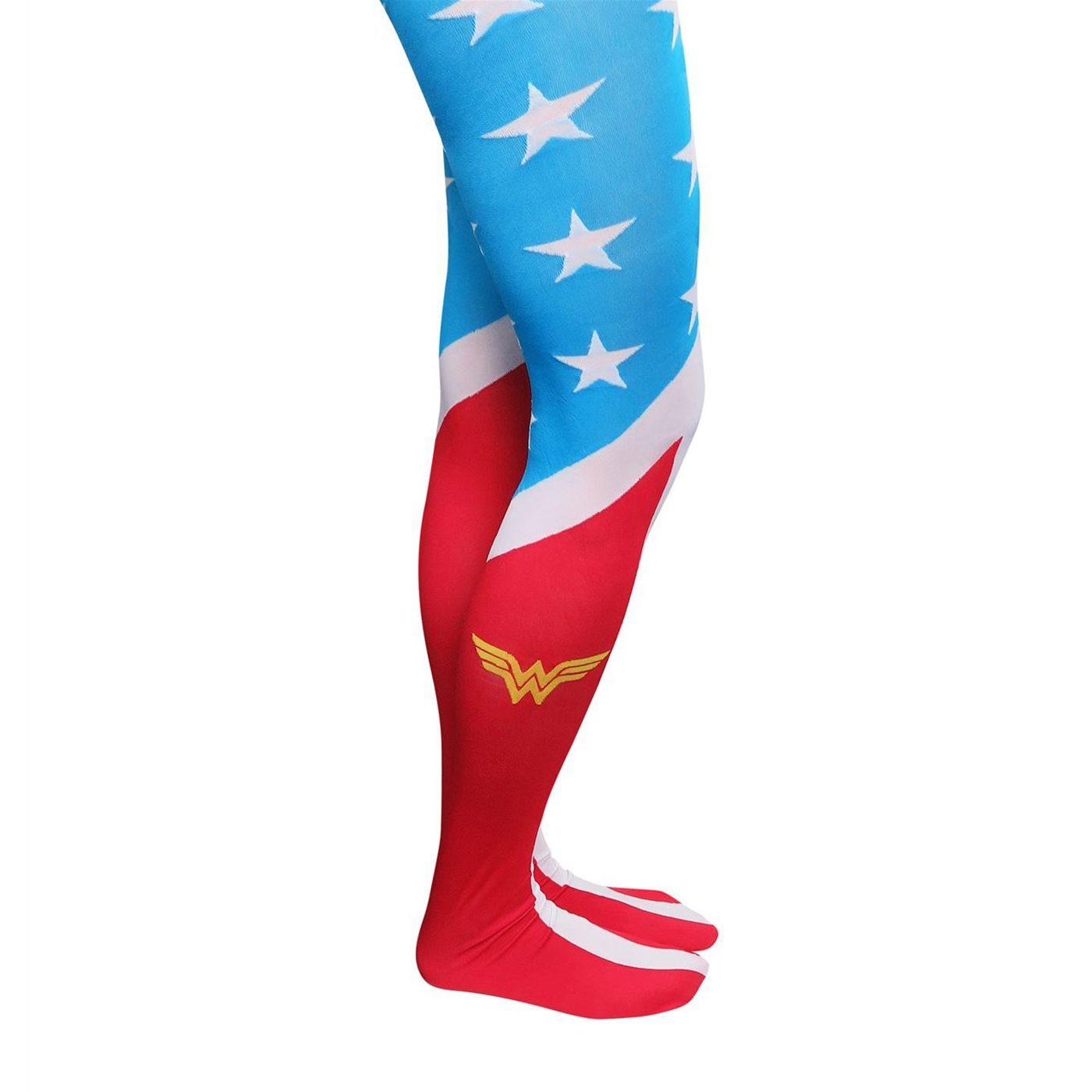 Wonder Woman Costume Women's Tights