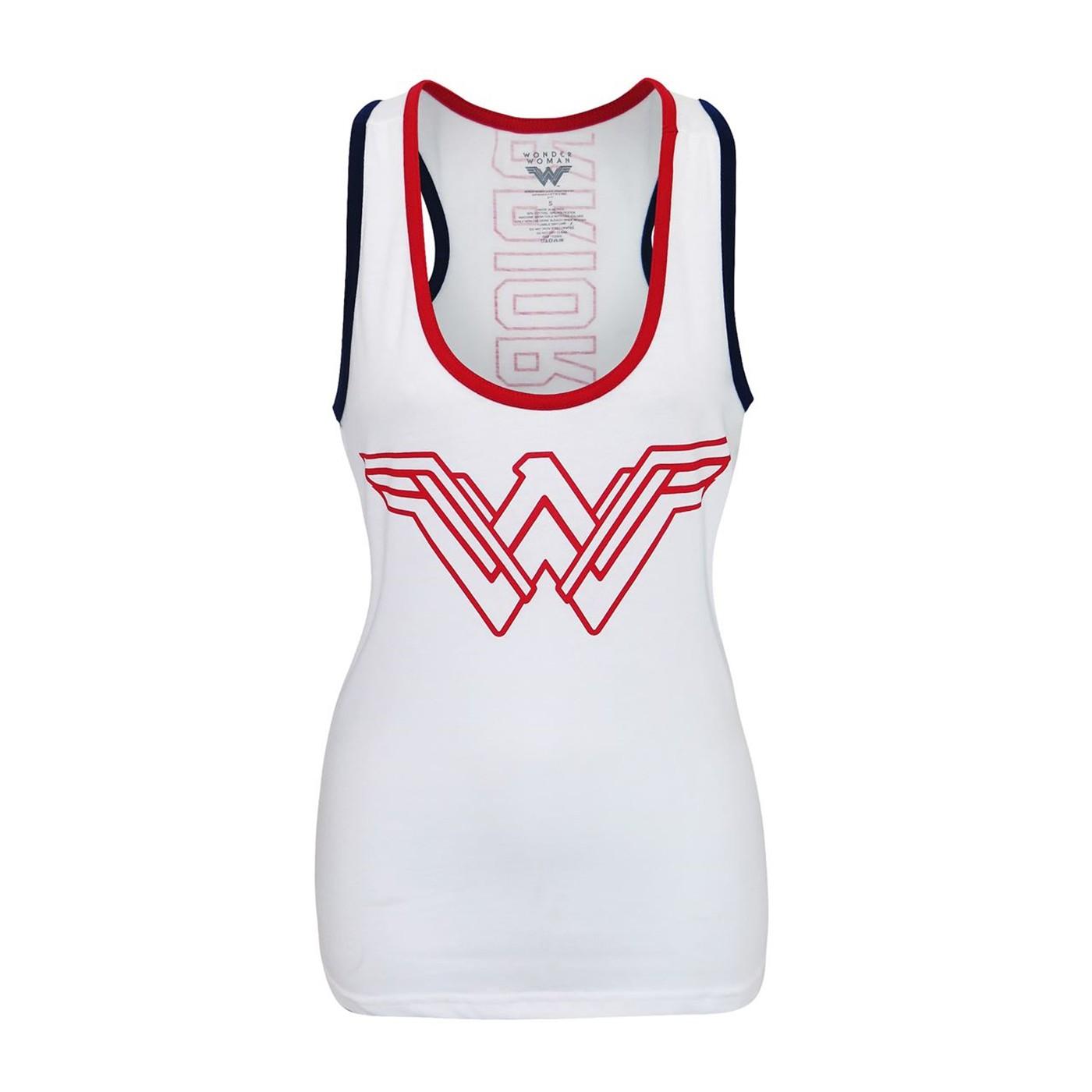 Wonder Woman Warrior Victory Women's Tank Top
