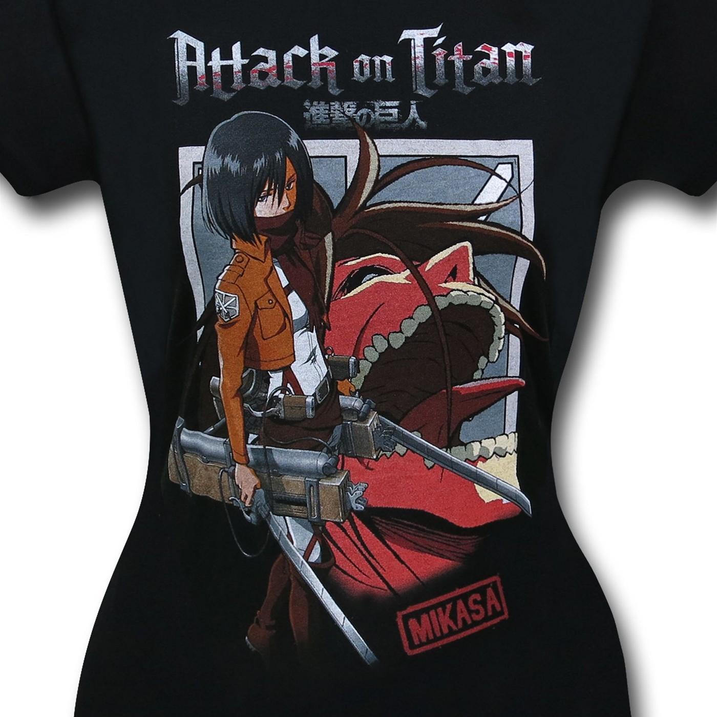 Attack On Titan Mikasa Women's T-Shirt