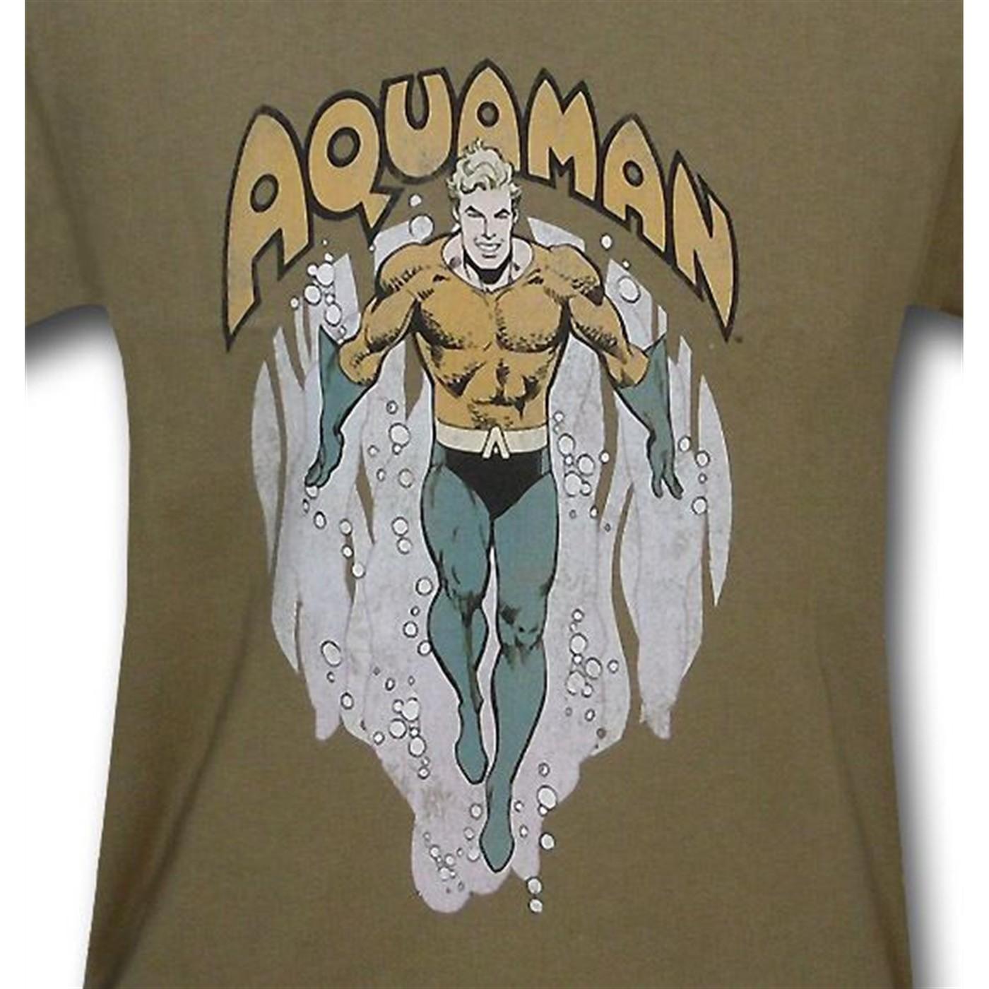 Aquaman From The Depths Kids T-Shirt