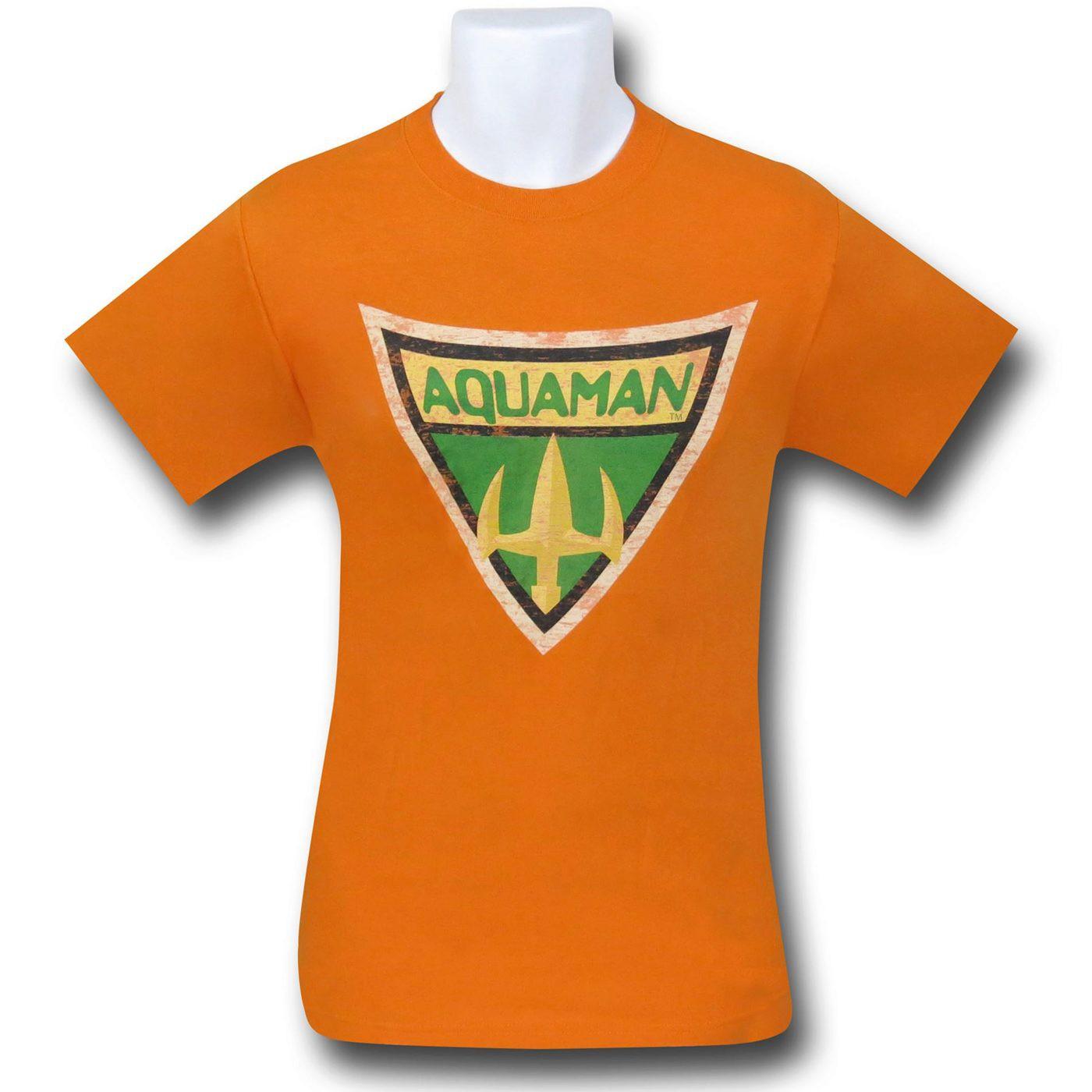 Aquaman Brave & Bold Symbol T-Shirt