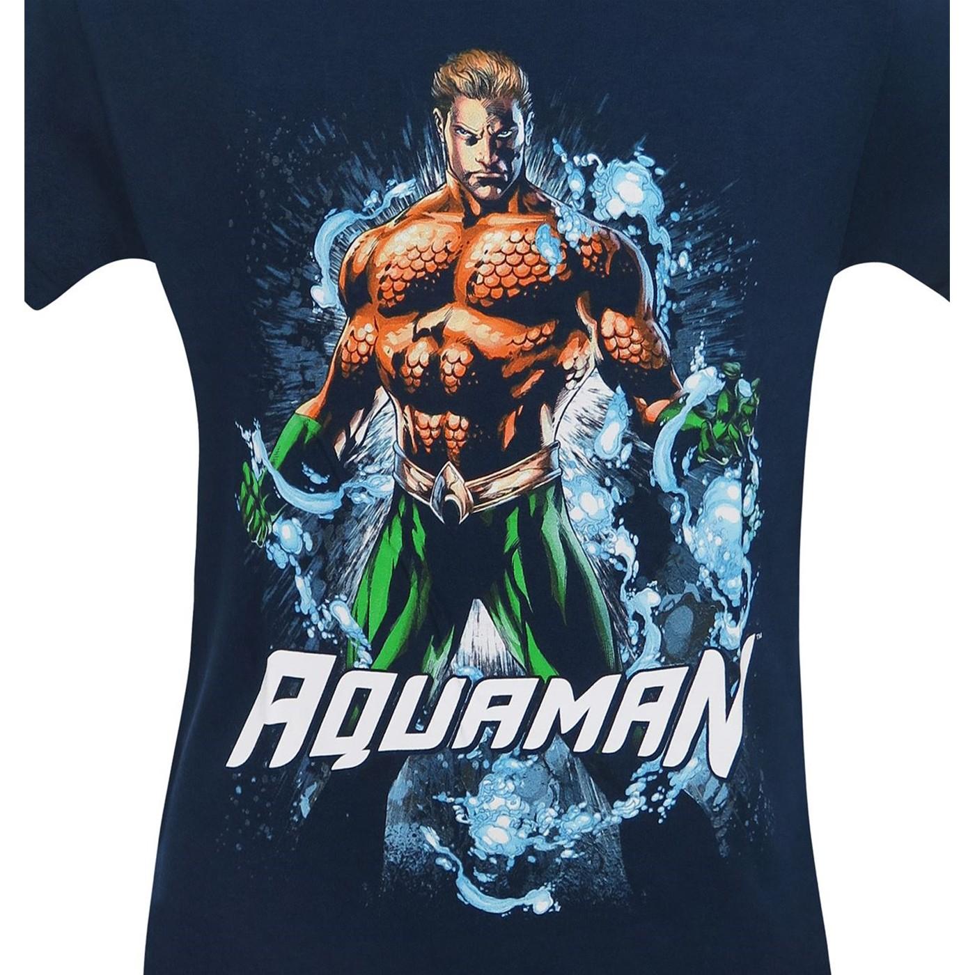 Aquaman Water Power Men's T-Shirt