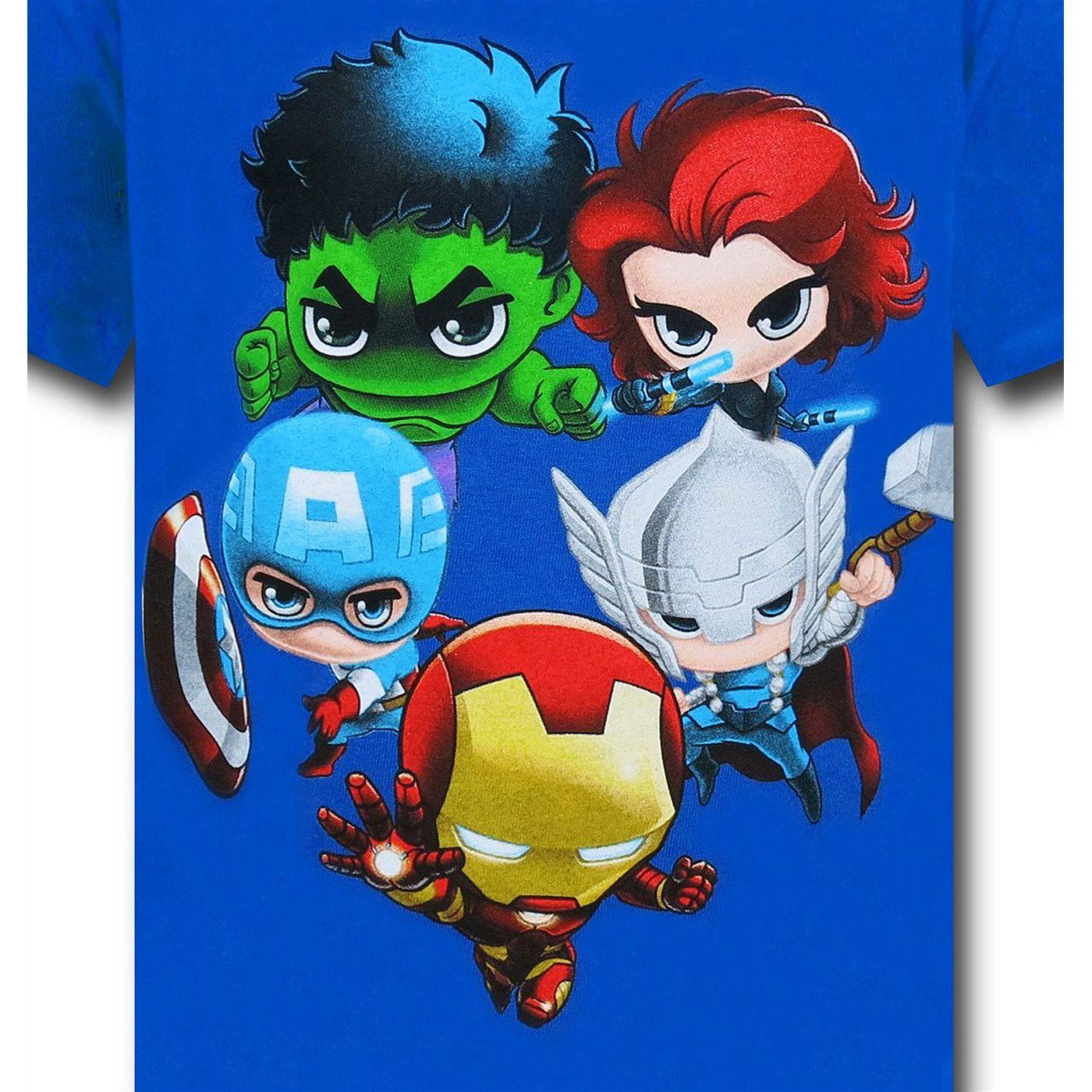 Avengers Little Five Kids T Shirt