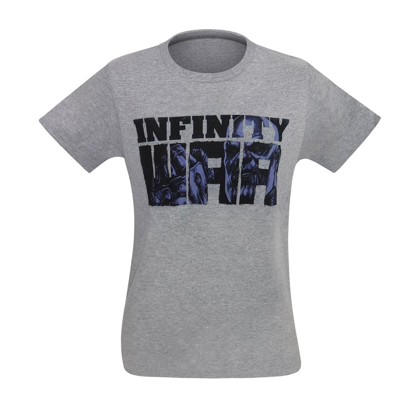 Infinity War Thanos Vs Earth's Mightiest Men's T-Shirt