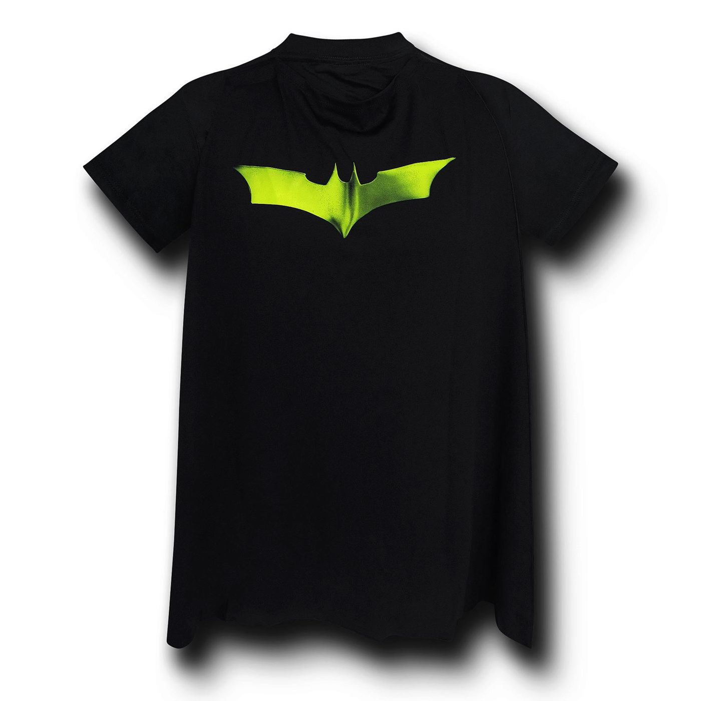 Batman Dark Knight Armor Costume & Cape T-Shirt