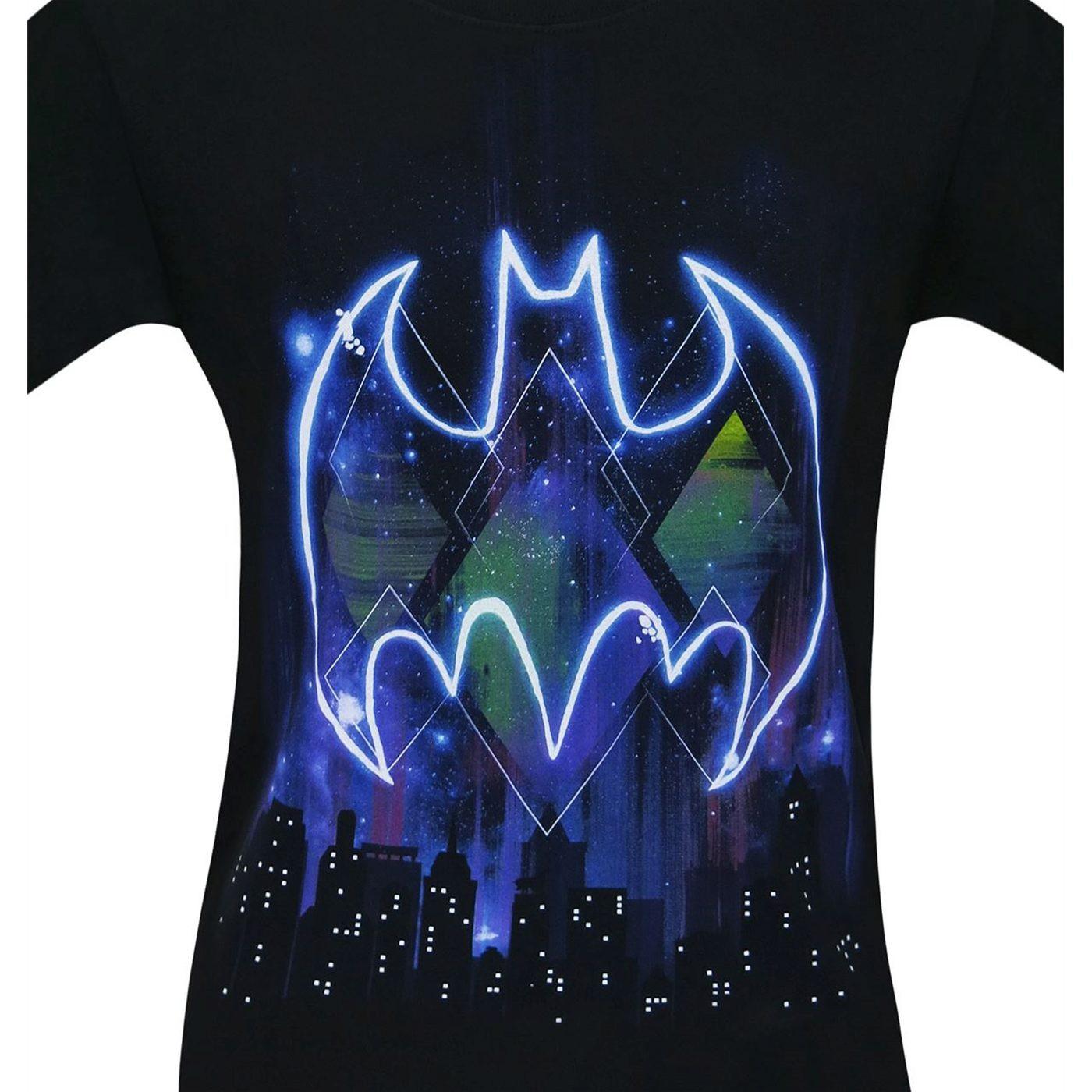 Batman Bright City Men's T-Shirt