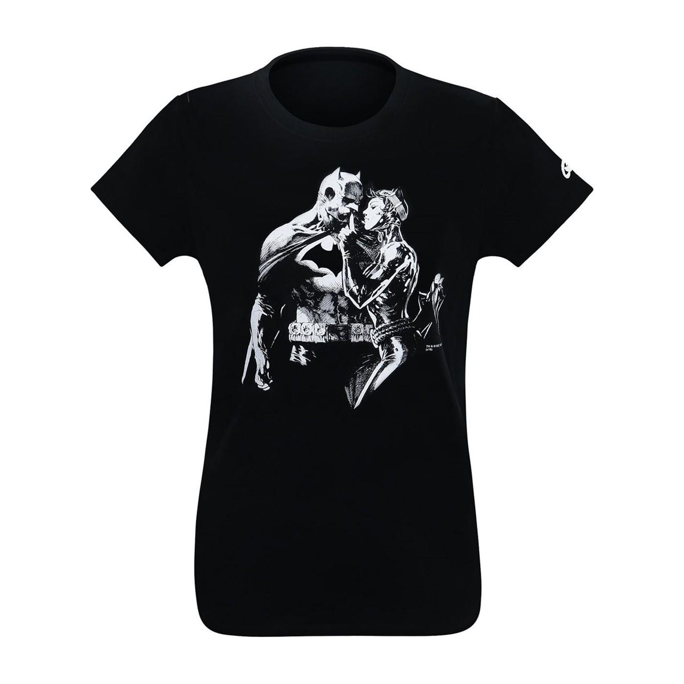 Batman & Catwoman Hush Women's T-Shirt