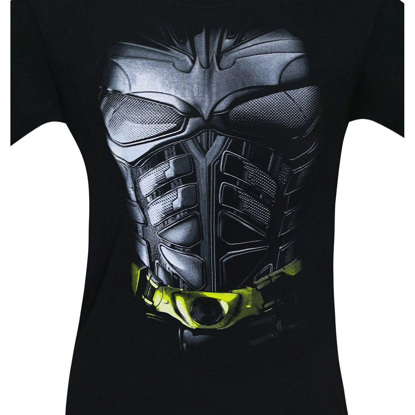 Batman Dark Knight Movie Armor Costume Men's T-Shirt
