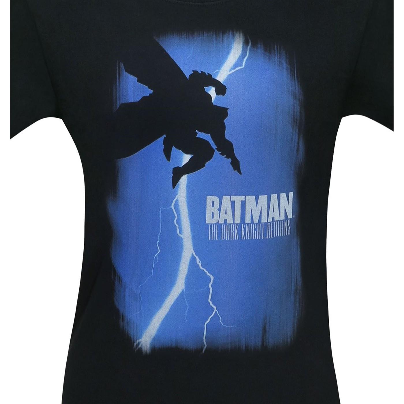 Batman Dark Knight Returns Comic Cover Men's T-Shirt