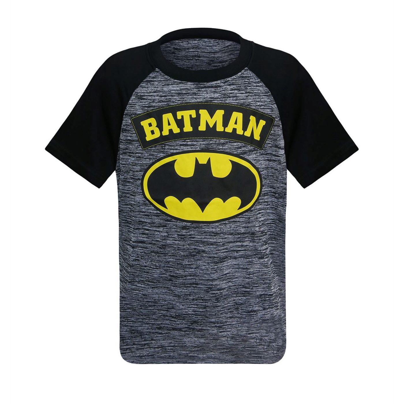 Batman Symbol Kids Space Dye T-Shirt