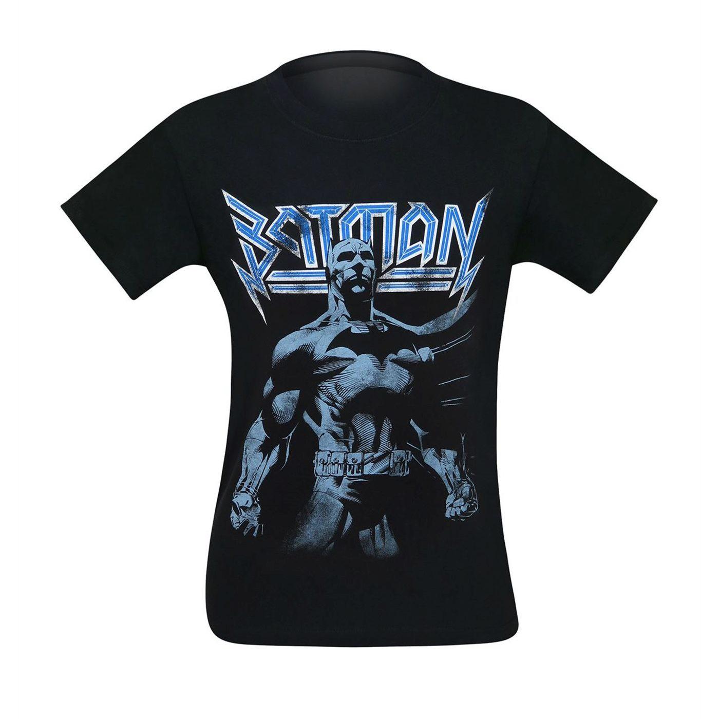 Batman Modern Rock Star Men's T-Shirt