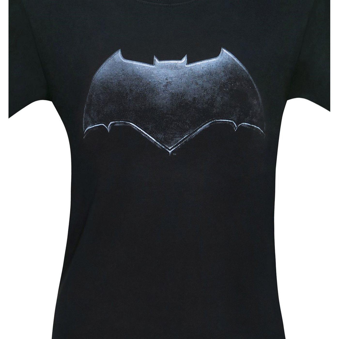 Batman Symbol Justice League Movie Men's T-Shirt