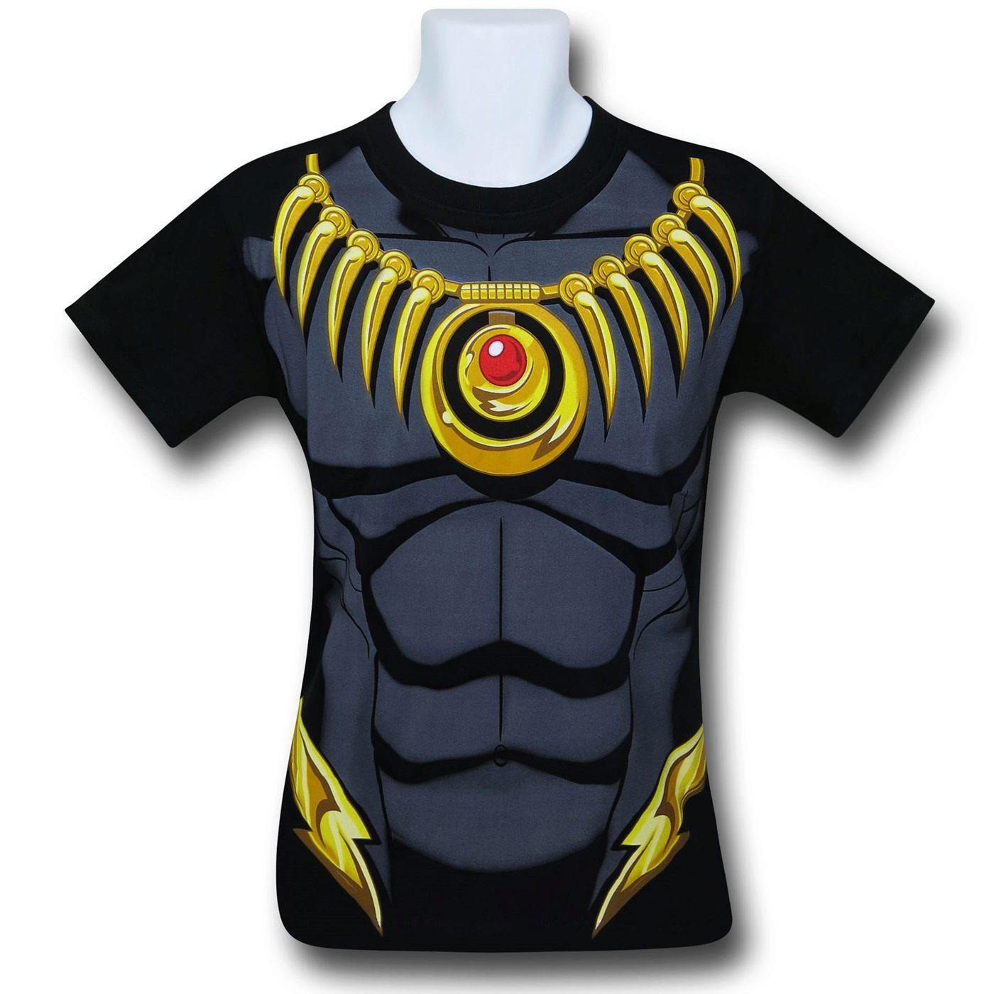 Black Panther Costume 30 Single T-Shirt