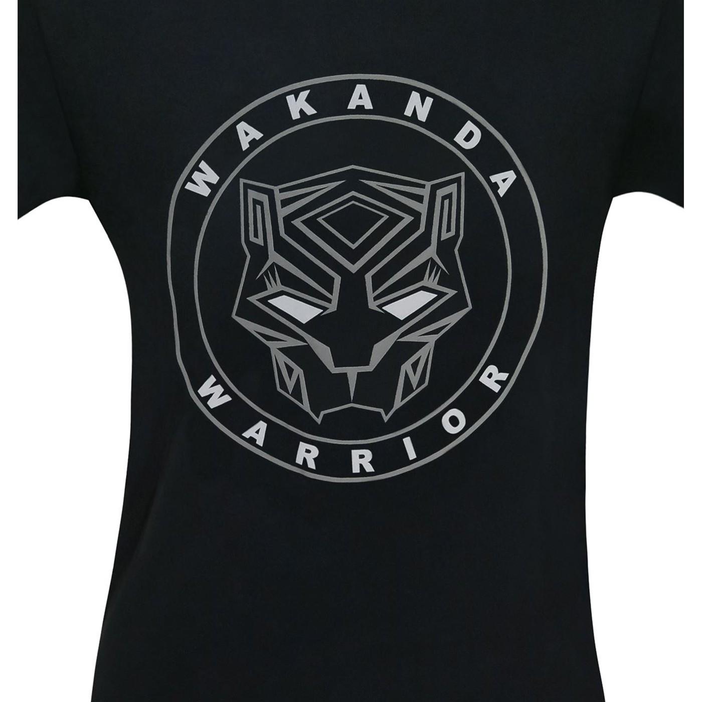 Black Panther Movie Wakanda Warrior Men's T-Shirt