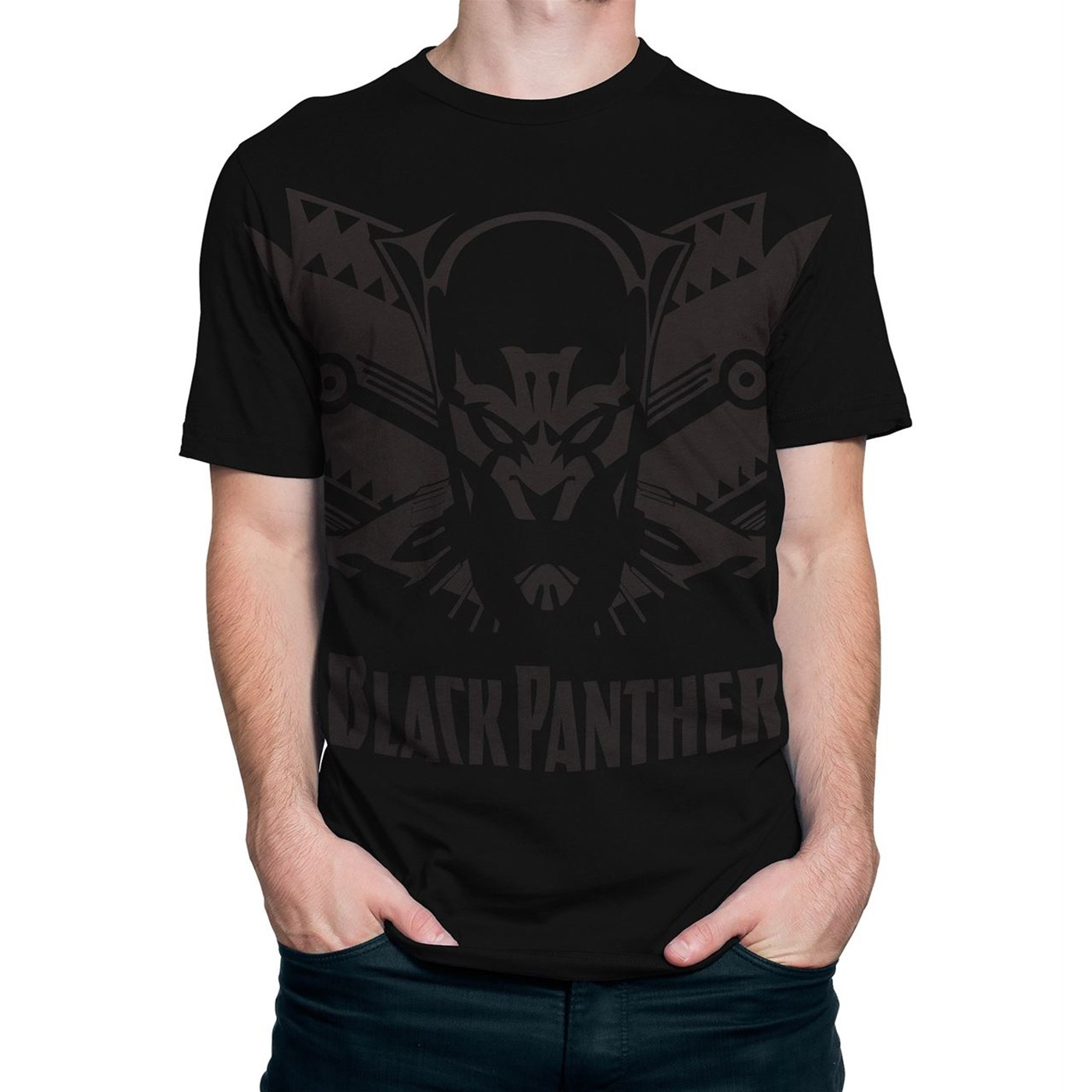 Black Panther Shadow Cat Men's T-Shirt