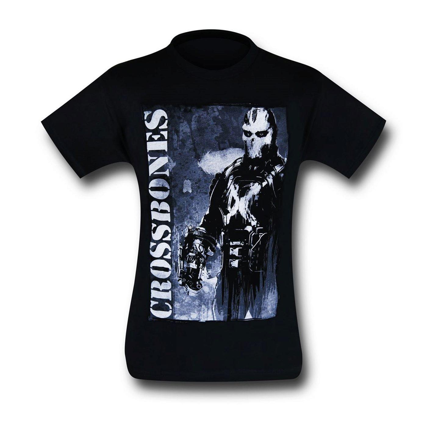 Captain America Civil War Crossbones Stance T-Shirt