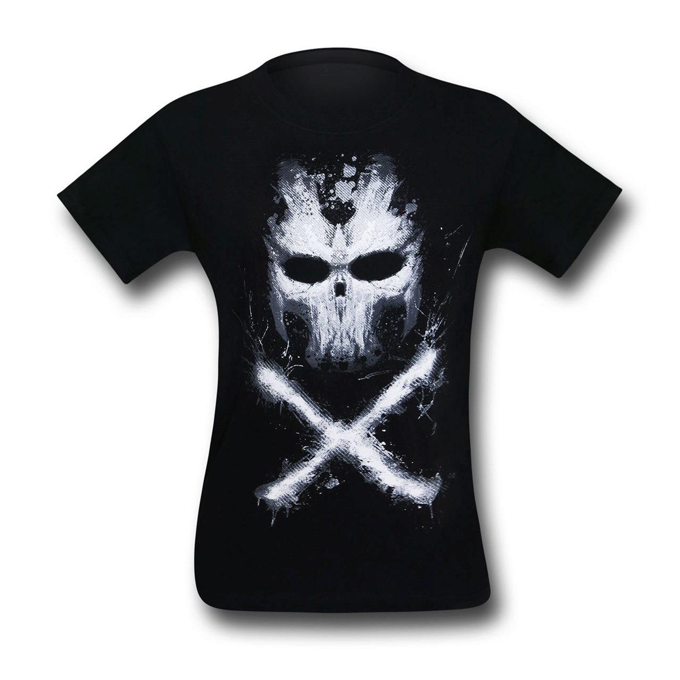 Captain America Civil War Crossbones Visage T-Shirt