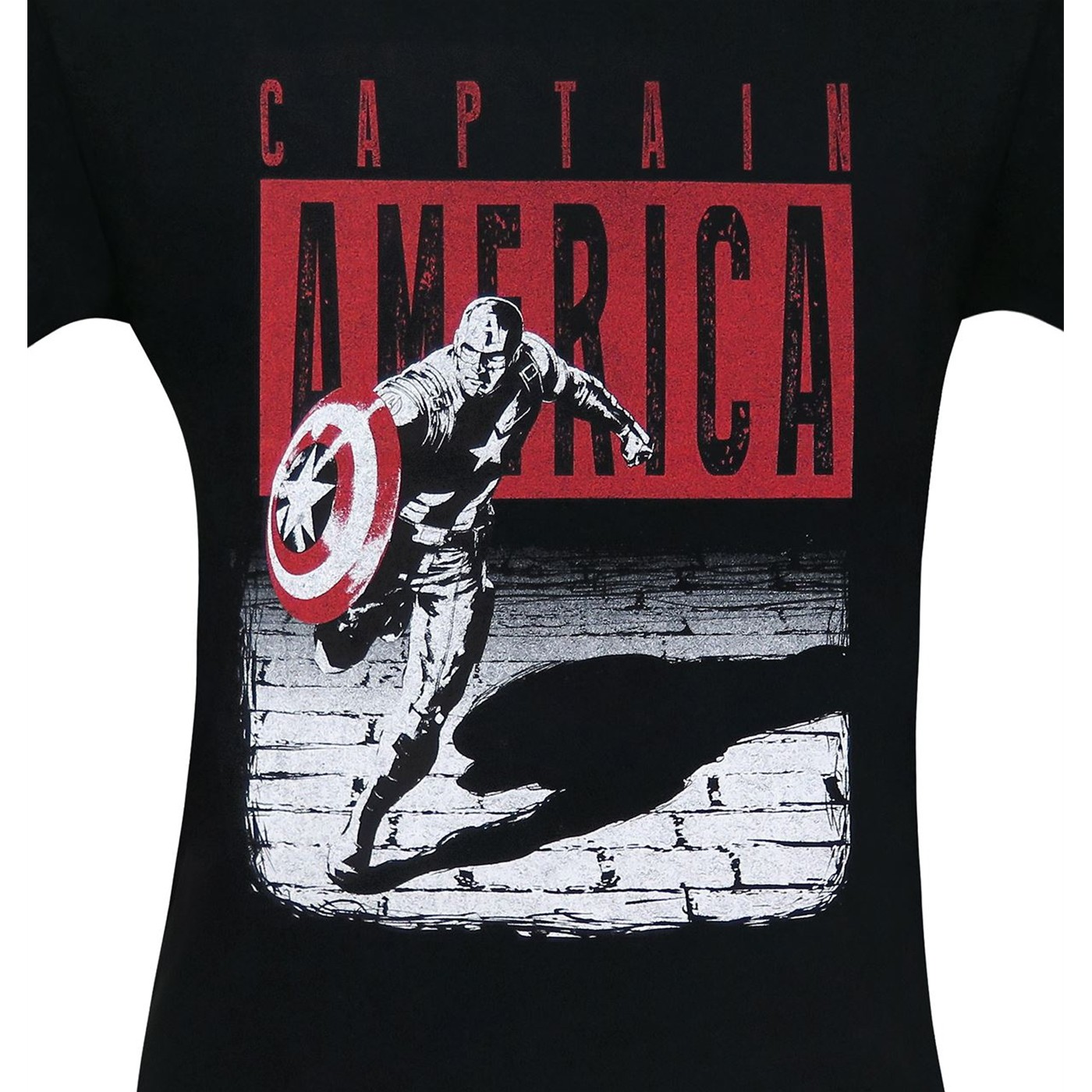 Captain America Night Run Men's T-Shirt