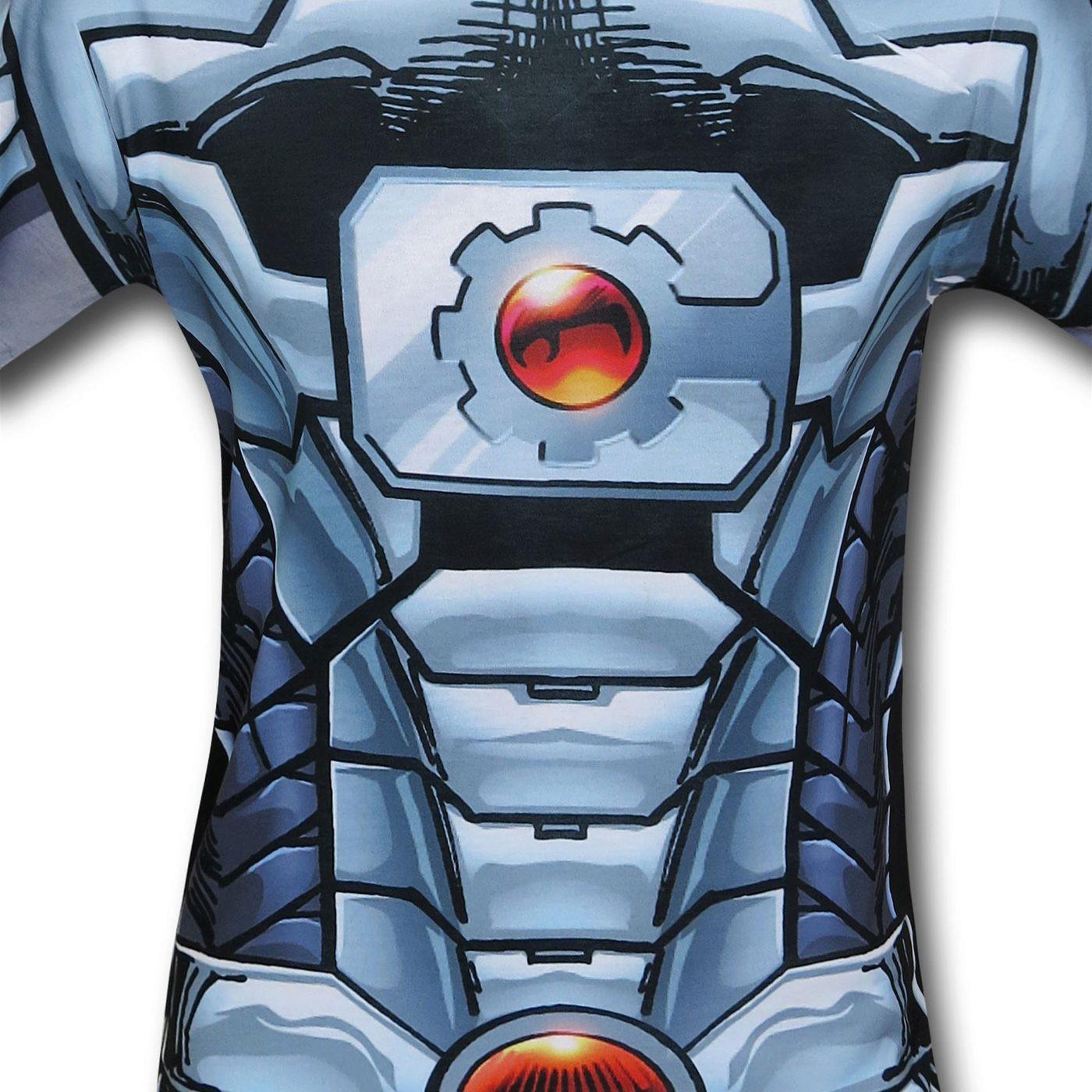 Cyborg Sublimated Costume T-Shirt