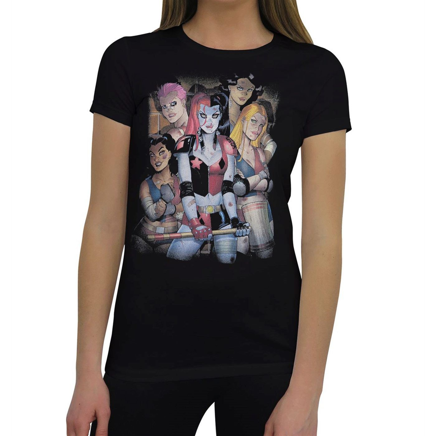 DC Bad Girls Women's T-Shirt