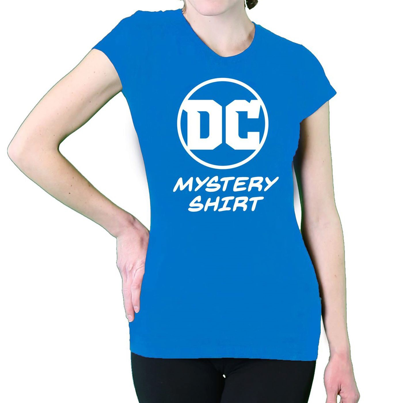 DC Comics Women's Mystery T-Shirt