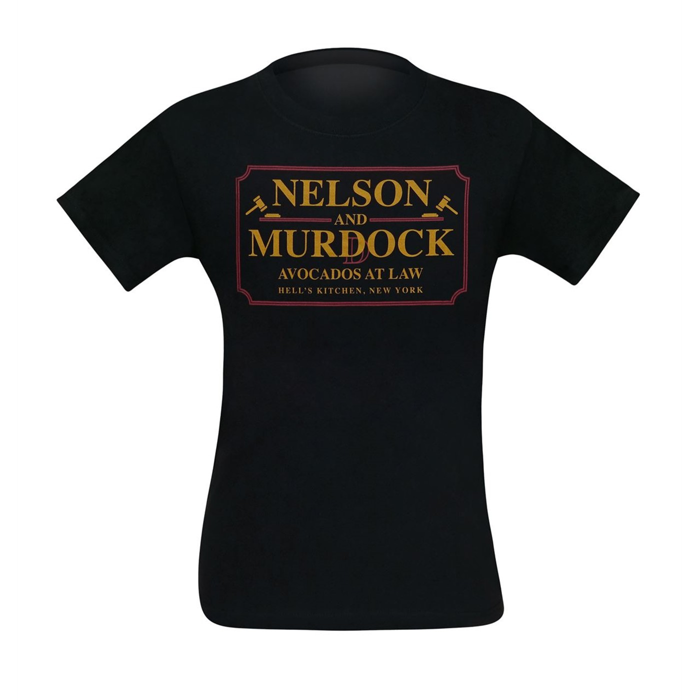 Nelson & Murdock Avocados at Law Men's T-Shirt