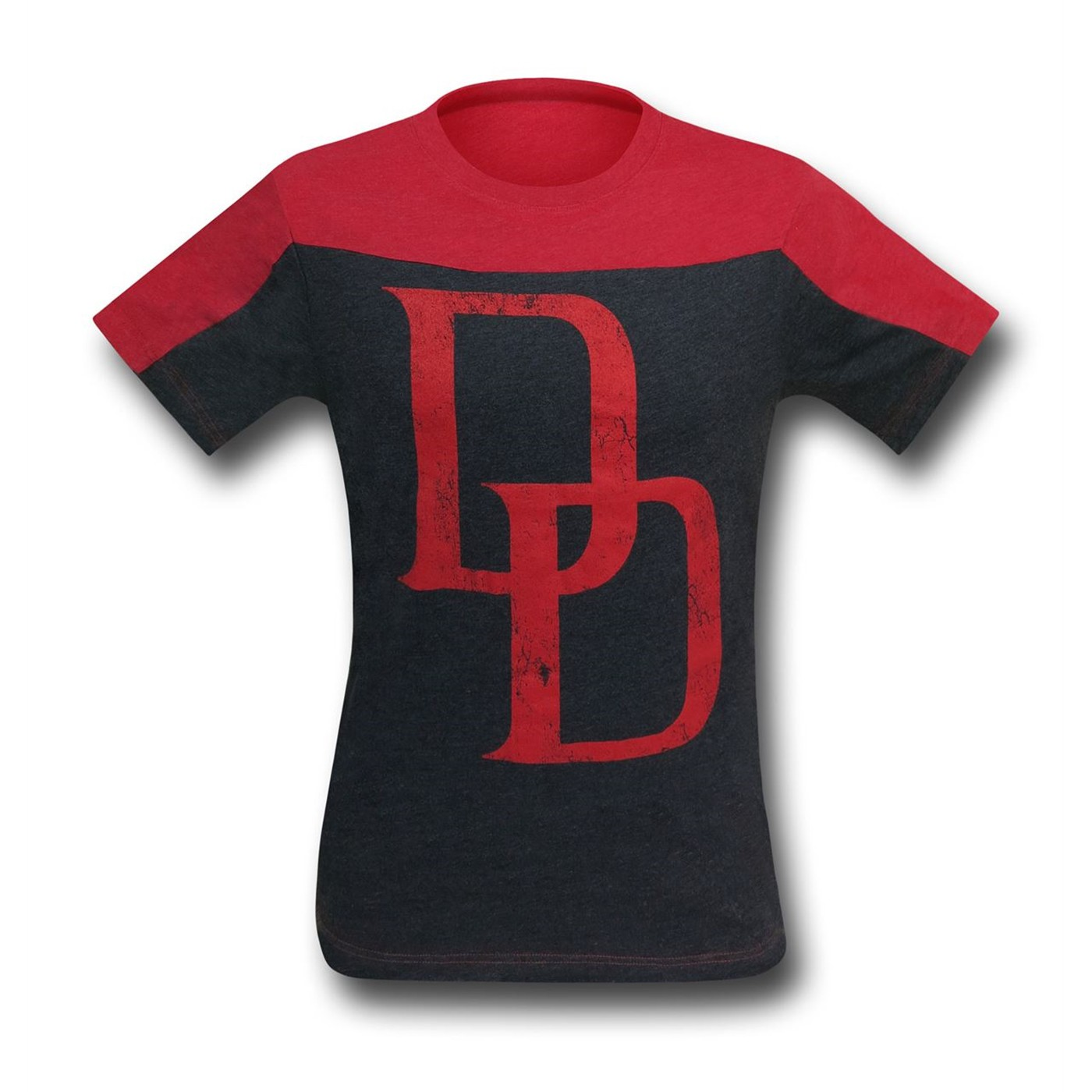 Daredevil Symbol Two-Tone Men's T-Shirt