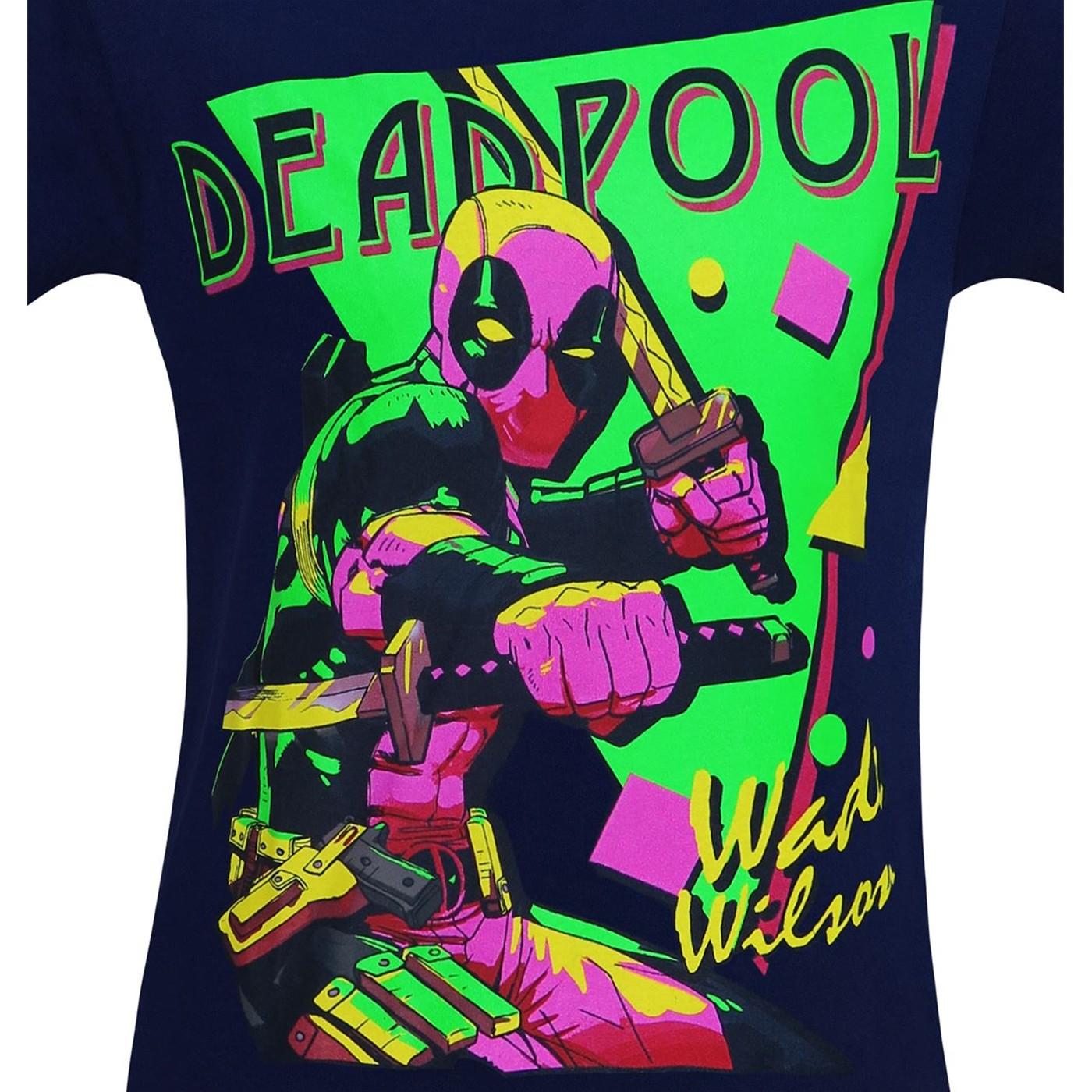 Deadpool It's A Party 80's Style Men's T-Shirt
