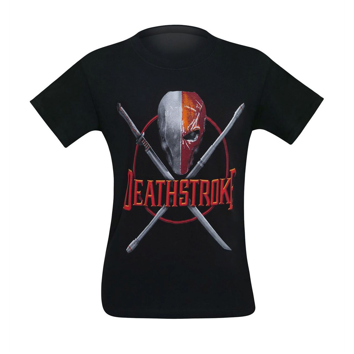 Deathstroke Weapons Crossed Men's T-Shirt