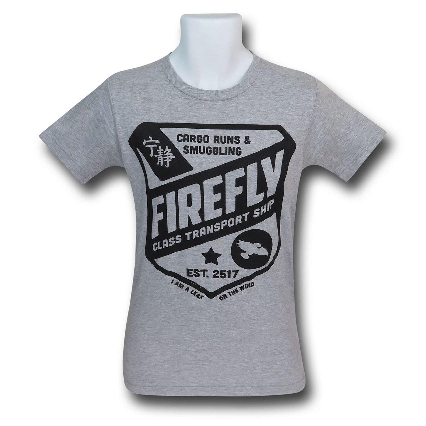 Firefly Class Transport Ship Men's T-Shirt