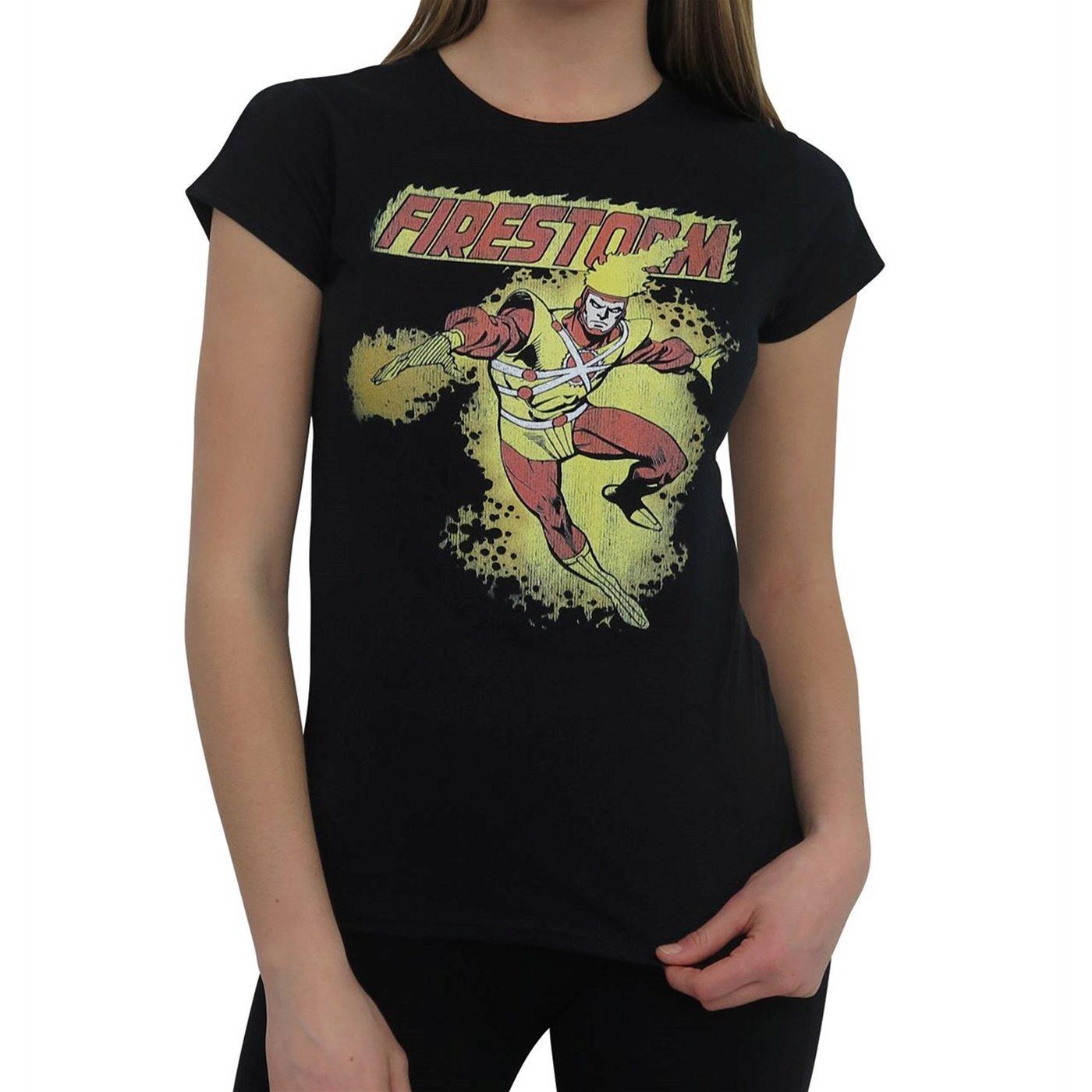 Firestorm Retro Women's T-Shirt