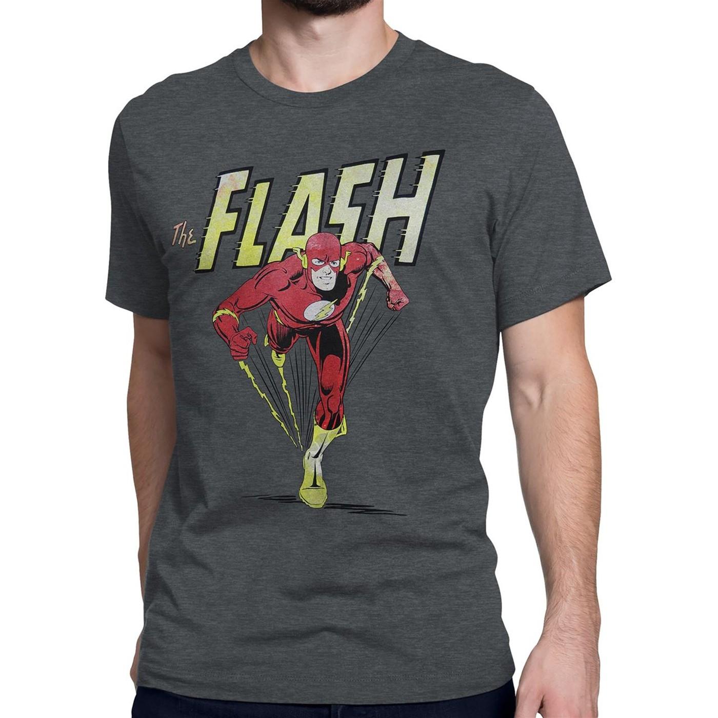 Flash Classic Barry Allen Dash Men's T-Shirt