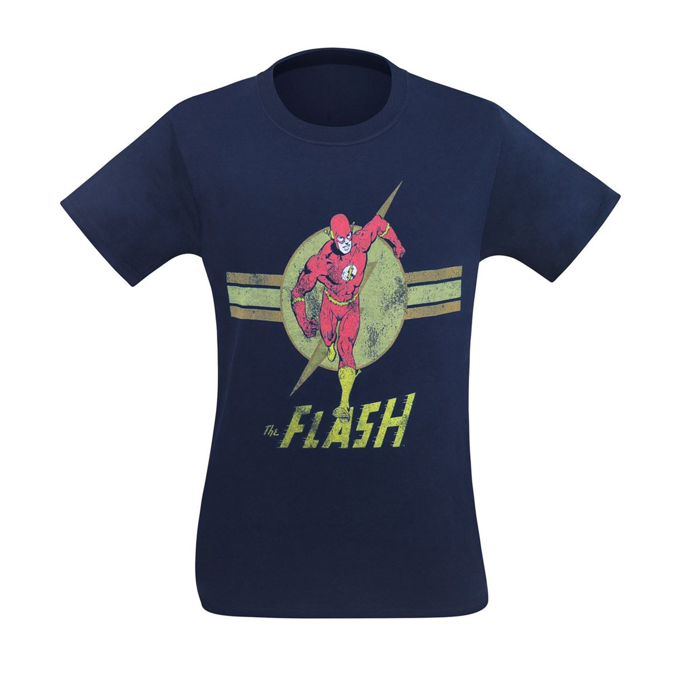Flash Navy Blue Streaker 30 Single T-Shirt