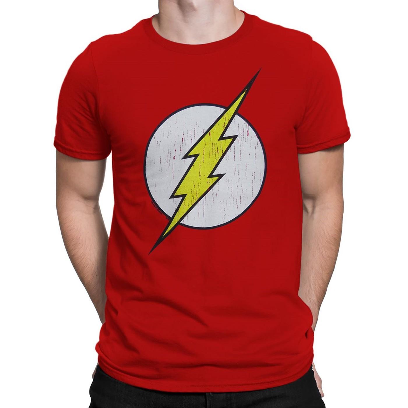 Flash Distressed Symbol T-Shirt