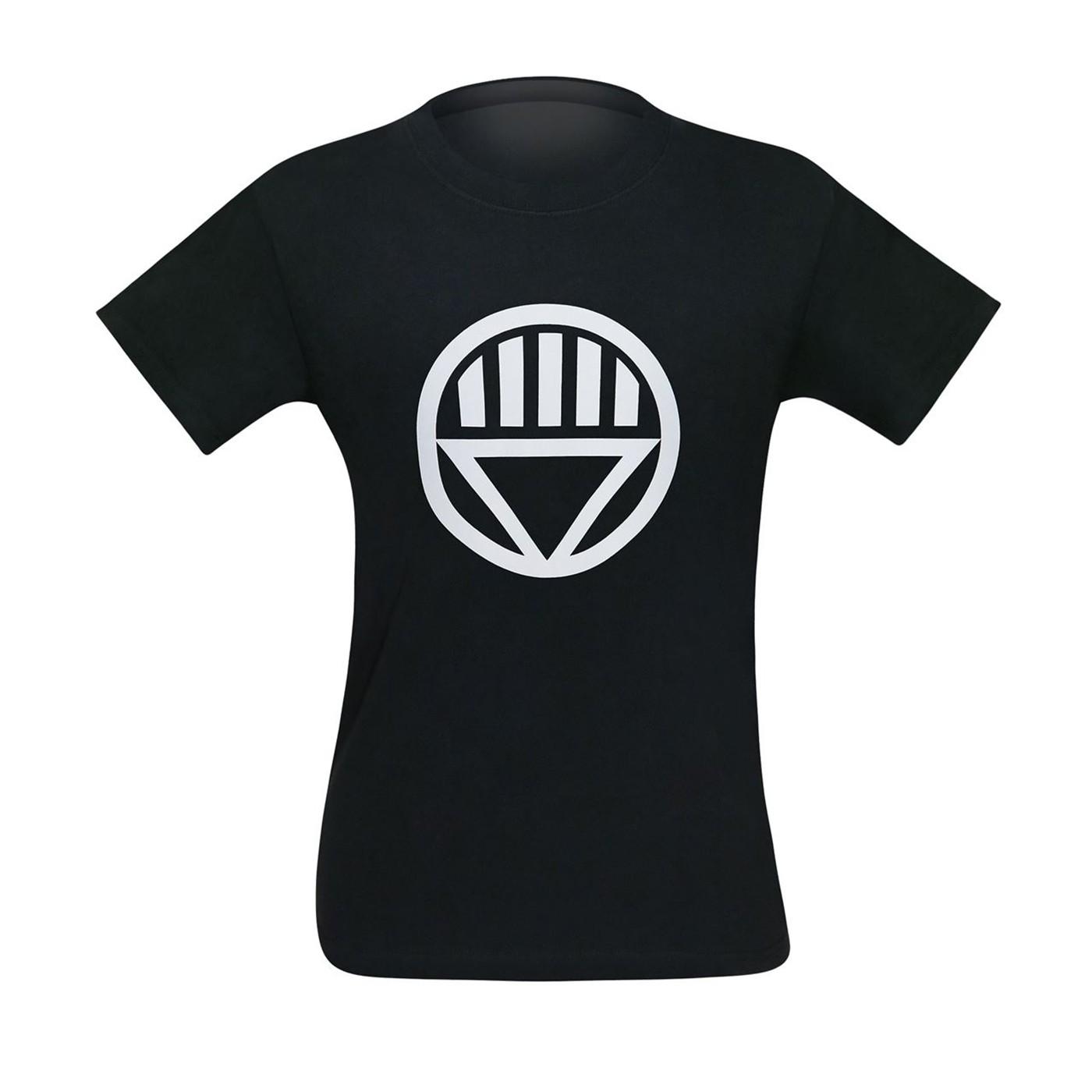 Black Lantern Big Symbol Black T-Shirt