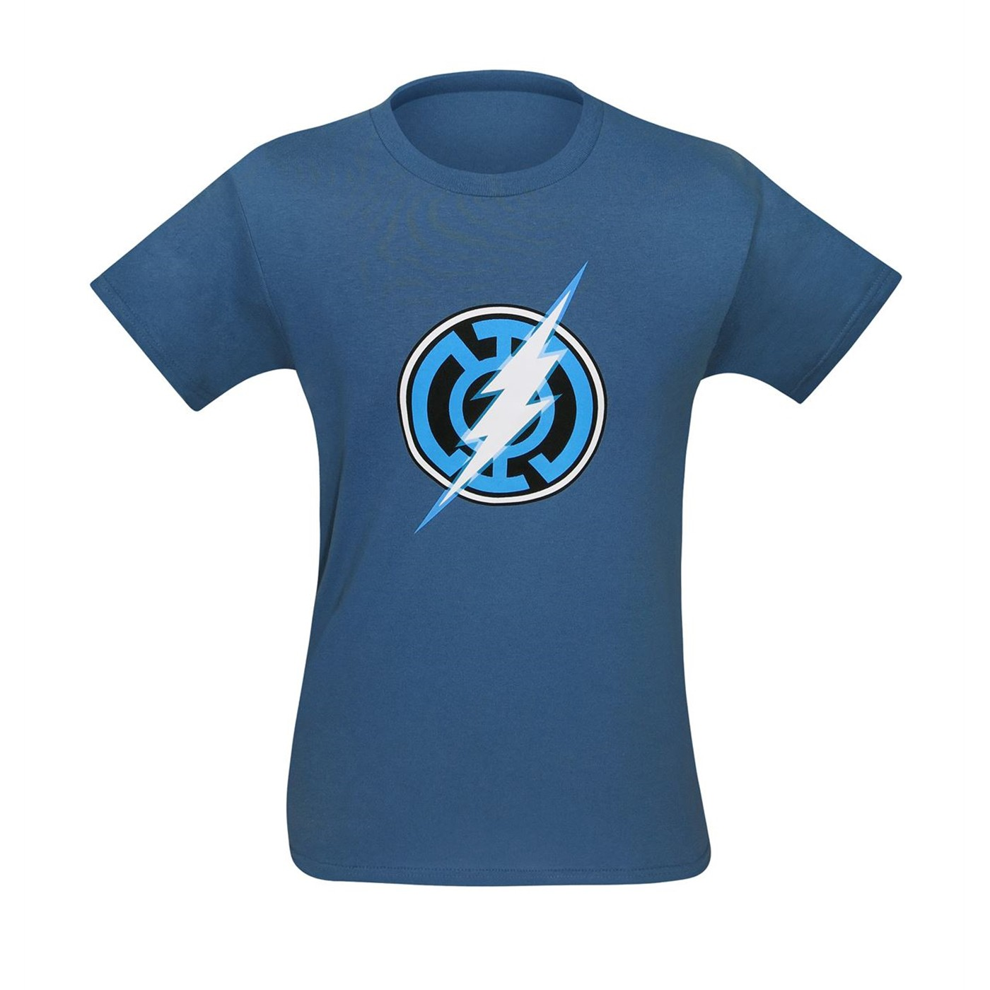 Blue Lantern Flash Symbol T-Shirt