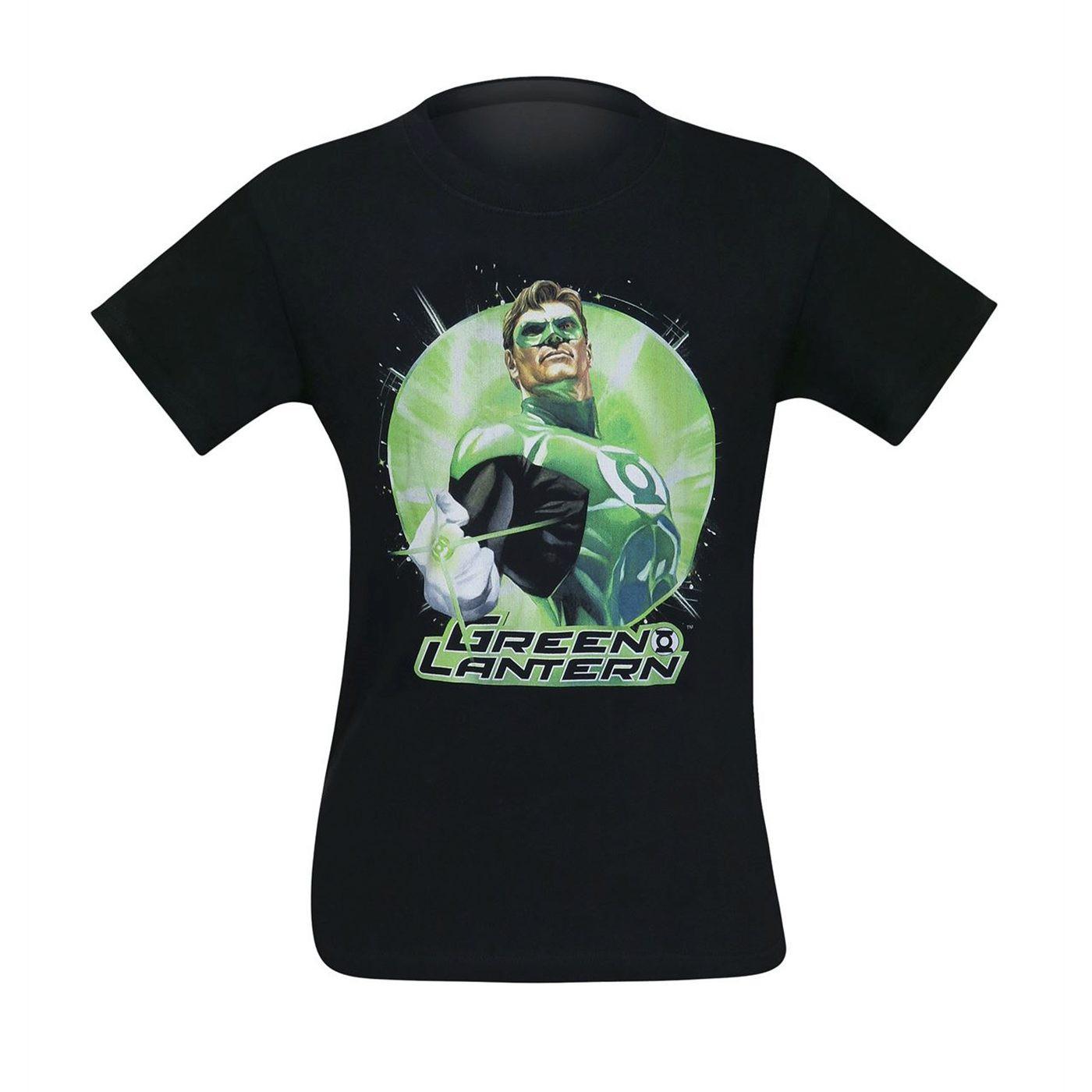 Green Lantern Static Men's T-Shirt