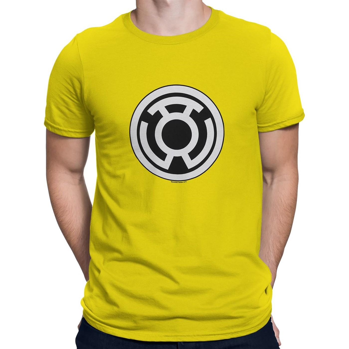 Sinestro Corps Big Symbol Yellow T-Shirt