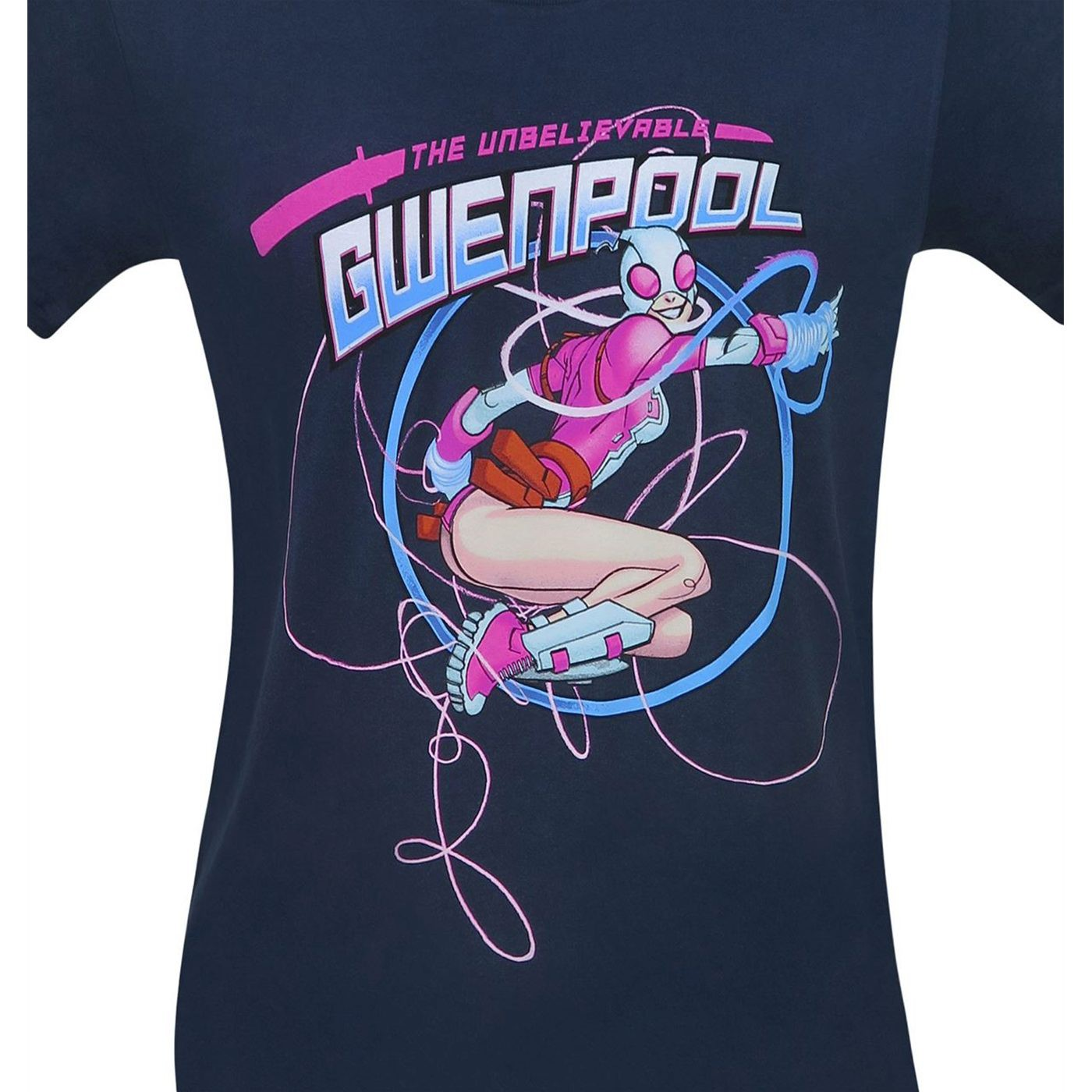 Gwenpool on the Ropes Men's T-Shirt