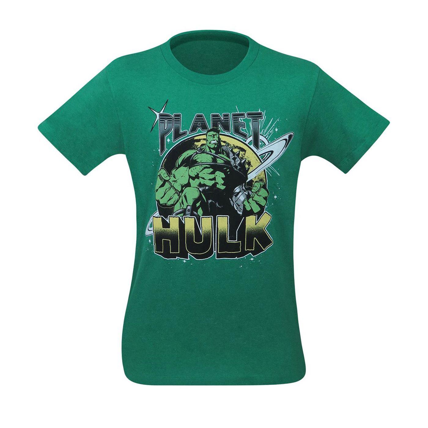Planet Hulk Vintage Men's T-Shirt