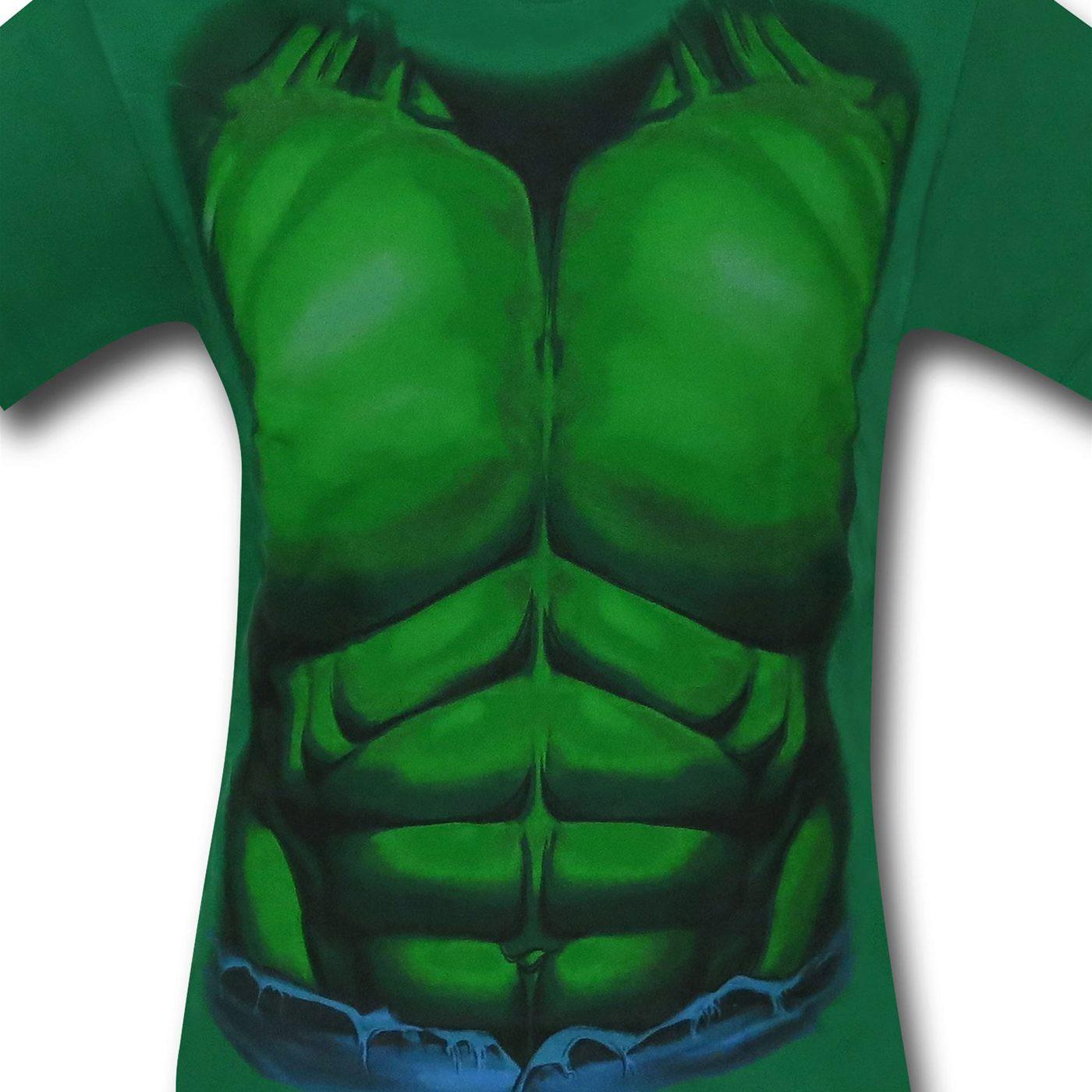 Hulk Kids Costume T-Shirt