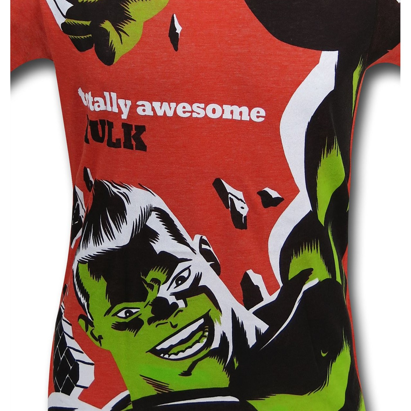 Hulk Totally Awesome Men's T-Shirt